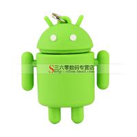 Rubber Cartoon Robot 2GB 4GB 8GB 16GB USB Flash Stick Drive Memory 2G 4G 8G 16G