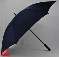 The Genuine Big Umbrella Diameter 133cm Weidi large poleaxe solid color  windproof antimine