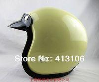 Motorcycle helmet/Free shipping/Jet helmet/Vintage helmet/Retro helmet/Top level open face helmets/yellow
