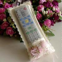 Pearl rustic derlook cloth remote control set protective case