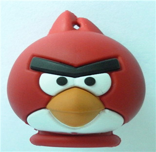 Free Shipping(5PCS/lot) Cartoon Bird Shape USB Stick Flash Disk 2GB 4GB 8GB 16GB 32GB 64GB