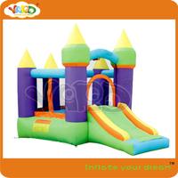 Indoor and outdoor mini bouncy castle