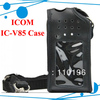 Freeshipping Multi-function Case Holder for IC-V80 ICOM V85 IC V87 two way radio on Duty Walkie talkie two way Ham Radio Eshow