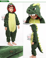 Green dinosaur Costume KIGURUMI Pajamas Party Hallowmas kit children kids Animal pajamas
