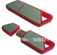 Red PVC USB Flash Drive