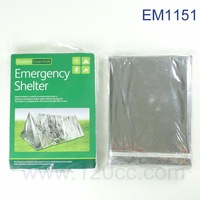 Free Shipping EM1151 Emergency Shelter 5pcs