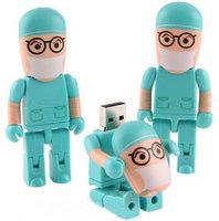 Wholesale retail genuine 2G/4G/8G/16G/32G usb drive pen drive usb flash drive memory medical doctor plastic