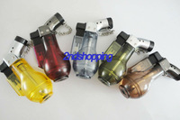 10PCS/LOT COLOR TORCH JET FLAME SMOKING BUTANE LIGHTER free shipping