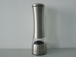 Stainless Steel Manual Salt and Pepper Mill Grinder for cooking kitchen(China (Mainland))