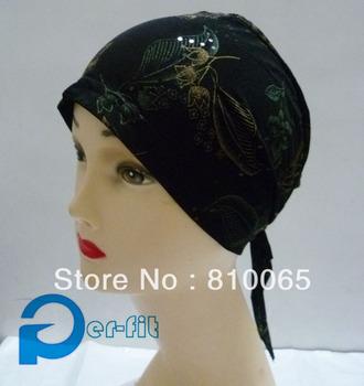 chemo bonnet cancer hat scarf Turban HeadWrap headcover Hat Bandana 9 Colour 36pcs/lot free ship