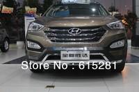 Hyundai SantaFe ix45 Front Rear Bumper Protector Body Kits Guard Plate , ABS, Wholesale prices
