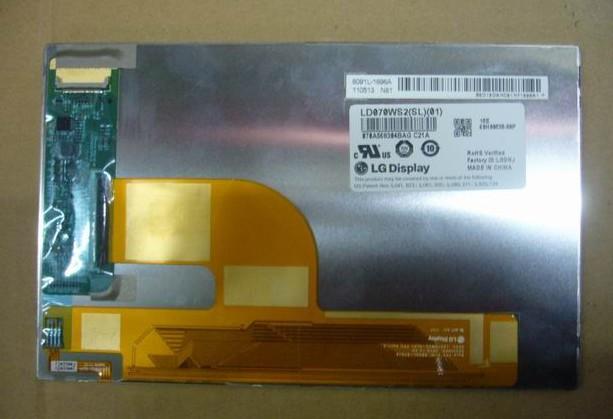 New Original 7 inch LG LD070WS2 SL 01 LCD display screen for novo 7 aurora II HTC Flyer(p510e) Tablet PC,PPC(China (Mainland))