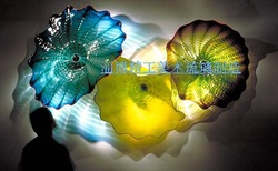 home decoration/glass crafts / glass wall arts(China (Mainland))