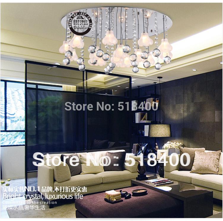 Namensmarke neuankömmling modernem luxus Modezeichnung Schlafzimmer kristall-kronleuchter decke licht 60cm durchmesser licht