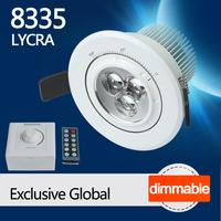 8335 LYCRA Dimmable 110V LED focus ceiling lighting ski room design from LEDing the life