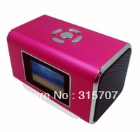 promotion mini usb speaker portable with tf card mp3 connect with fm radio,laptop,cellphone etcs +super quality