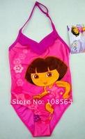 4024 Free Shipping wholesale 8 pieces in 1 lot Dora Baby kids children Swimwear Girl Bikini