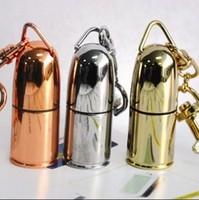 NEW usb flash drive Metal the Bullet Shape Genuine 4GB 8GB 16GB 32GB USB Memory Stick Flash Pen Drive
