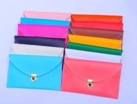 Free shipping 2013 new arrival Korea style envelope Chain Bag women Clutch Purse HandBag Shoulder Bag Chain vintage candy color