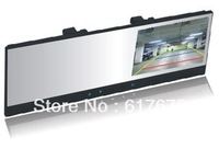 "MC99 4.3""TFT Bluetooth rearview mirror+back-up camera+connected to car DVD"