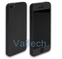 Hotsales!! Carbon fiber sticker for IPhone 5 5G 5th , Protective full body mobile phone Sticker skin cover