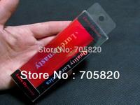 "2013 New,""lure dynasty"" Nice fishing bait lure's laser plastic box(12cm*4.2cm*2.4cm),accept customized,50pcs/lot Free shipping"