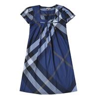 Summer 2012 fashion b women's 100% cotton square collar plaid short-sleeve dress