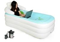 PVC TUB/Inflatable bath tub (Electric Pump Included)