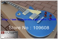 New  Arrival G -CUSTOM Electric guitar blue color  vos killer top free shipping