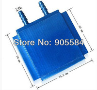 Aluminum water cooling blocks for CPU Graphics Radiator Heatsink Cooler CPU VGA GPU size:60*70*75.5MM