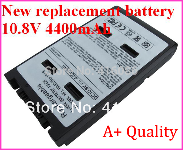 New Replacement Laptop Battery for Toshiba Satellite A10 A15 J50 PA3285U PABAS038 Tecra A1 A8 E10 F15 PA3284U-2BRS + Mail Free(China (Mainland))