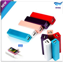 2013 Brand New Good quality universal portable mobile power bank 2600mah Free Shipping(China (Mainland))