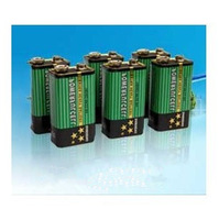Free shipping (10pcs/lot) 0% Mercury 0% Cadmium 1604D 6F22 9V Powerful Cell Extra Heavy Battery