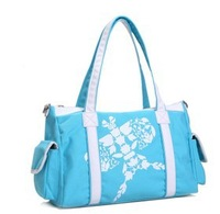 Free shipping women desinger brand canvas  travel duffle bag large capacity handbags with kite printed