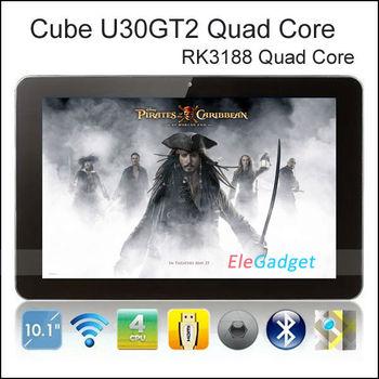 10.1inch 1920x1200 Android Tablet IPS Retina Screen Cube U30GT2 RK3188 Quad Core 1.8GHz 2GB RAM HDMI  5.0MP Camera