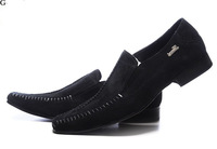 2013 New Fashion Men's Branded Leisure Shoes Fashion Oxford shoes high quality Flats,Euro-size 41-46,2 Color,