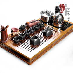 Tea set yixing tea set extra large chicken wing wood tea tray solid wood tea tray bwz67(China (Mainland))