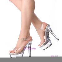 128 ultra high heels platform shoes platform women's shoes plus size high-heeled shoes