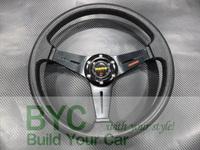 Ninja Star  PU Racing Drafting Steering Wheel-Car Styling  for Professional Buyer