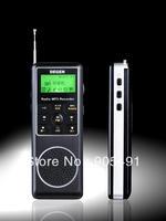 Free shipping DEGEN DE1127 DIGITAL Recorder DSP FM MW SW AM 4GB MP3 PLAYER PORTABLE RADIO RECEIVER with Retail Box