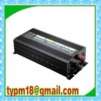 Factory price , 1500W Modified Sine Wave Car Power Inverter 12VDC to 220VAC+free shipping