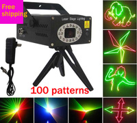 Free shipping Red  Yellow Green SD card red and green cartoon stage lighting KTV Disco Party Disco Club