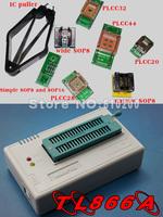 Free Shipping  TL866A USB MiniPro High Performance Willem Universal Programmer\Support ICSP interface\(7pcs Socket)+ IC picke