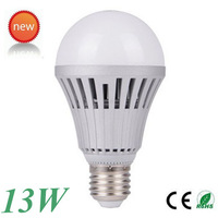 8xLow price free shipping LED Lamp 13W E27 led Bulb Lamp Cool/ Nature/ Warm white led Ball bulb