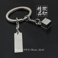 New arrive Fashion romantic keychain couple key chain key ring lovers gift