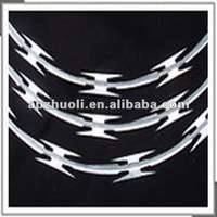 All stypes hot-dipped galvanized BTO-22 razor barbed wire