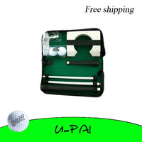 Free Shipping! Executive Gift Office Home Practice Golf Putting Putter Driver Balls Kit/Set