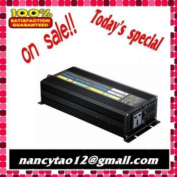 12V/24v/48vdc to 220V/110V 1000W/1kw Pure Sine Wave Power Inverter free shipping
