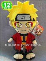NARUTO Uzumaki Plush Doll Toys Figure 12inches Stuffed Anime Manga Birthday Present Gift NAPL8679