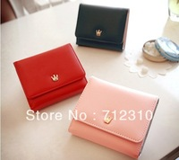 2014 New Women's Wallets Solid Mini Wallet Card Protector Many Colors Wholesale/reatail